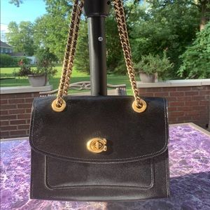 Coach hand bag used one Time